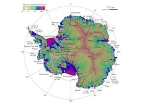 Cientistas Mapeiam Movimentacao Do Gelo Da Antartida Ciencia E