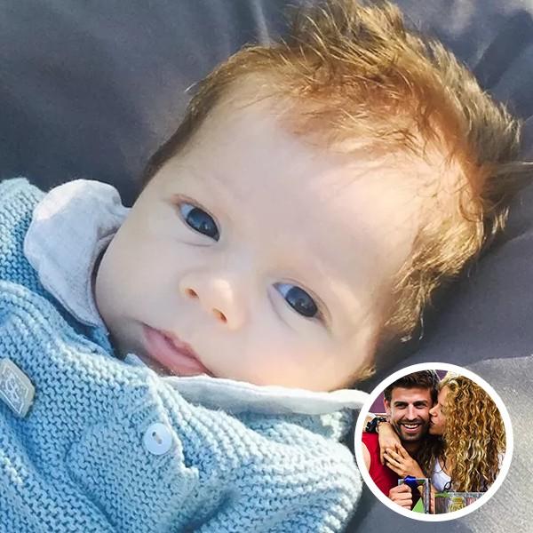 Sasha, filho de Gerard Piqué com Shakira (Foto: Getty Images / Instagram)