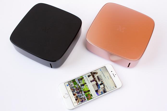 Dispositivo faz backup e cataloga fotos e vídeos automaticamente por Wi-Fi (Foto: Reprodução/Kickstarter)