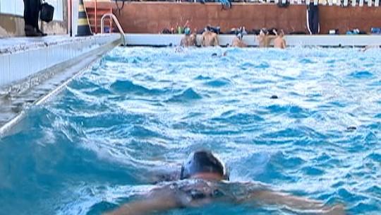 Dupla representa equipe prudentina de natação no Troféu Maria Lenk, no RJ