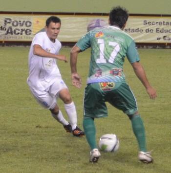 Ciel, meia Atlético-AC (Foto: Duaine Rodrigues)