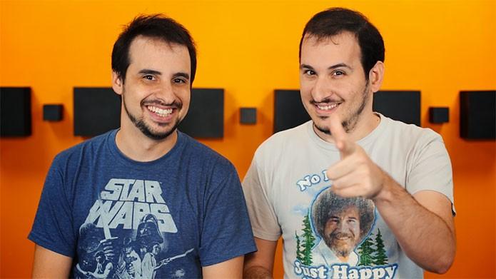 Castro Brothers, Marcos e Matheus, autores da ideia (Foto: Divulgação)