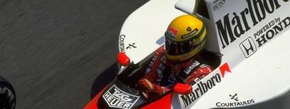 Senna profetizou muitas vitórias para Galvão, antes de ser piloto de F-1 (Getty Images)