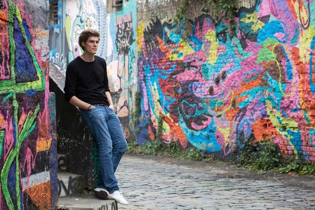 Max Reichel, 30 anos, criador da marca de móveis Oppa (Foto: Salvador Cordaro)