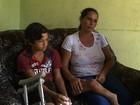 Menino aguarda tratamento de saúde (Reprodução/TV Gazeta)