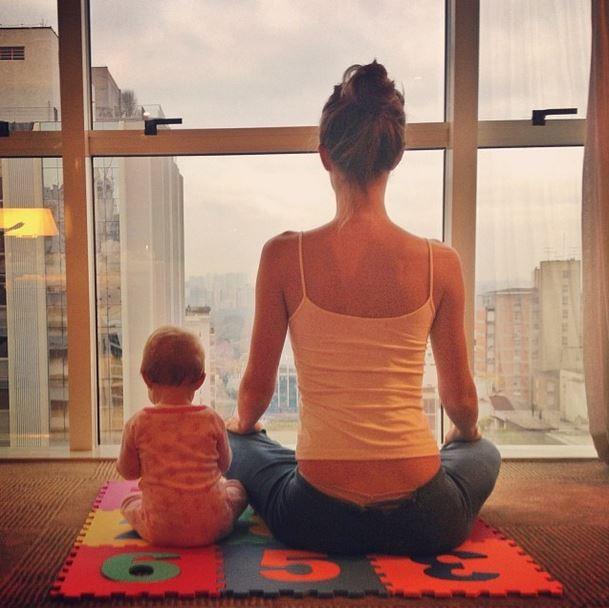 Gisele Bundchen e a filha (Foto: Instagram/Reprodução)