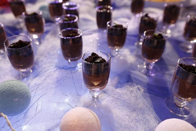 Mousse de chocolate vai fazer sucesso (Foto: Raphael Dias/Gshow)
