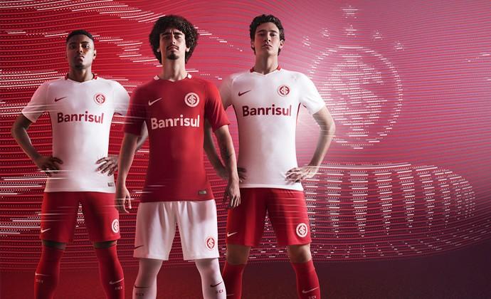 novos uniformes, inter, nike, 2016 (Foto: Divulgação)