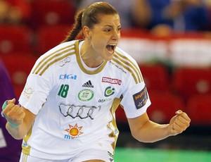 duda amorim gyori liga dos campeões de handebol (Foto: Reuters)