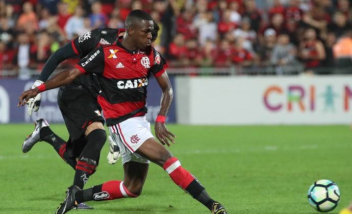 Vinicius Junior Flamengo x Atlético-GO (Foto: Gilvan de Souza/Flamengo)