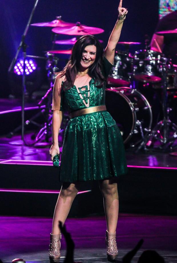 Laura Pausini (Foto: Rafael Cusato/Brazil News)