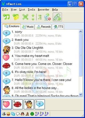 Interface Voice Emotion