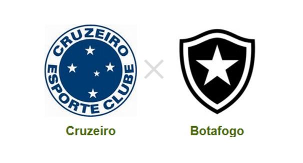 Cruzeiro e Botafogo se enfrentam pela 24ª rodada do Brasileirão (Foto: Reprodução)