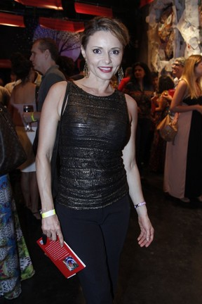Rita Guedes em evento na Zona Sul do Rio (Foto: Marcos Ferreira/ Brazil News)