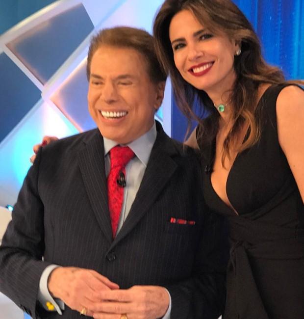 Silvio Santos e Luciana Gimenez (Foto: Reprodução/Instagram)