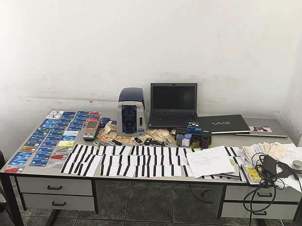 Prisão hacker clonagem cartões Juiz de Fora (Foto: Assessoria Polícia Civil/ Arquivo)