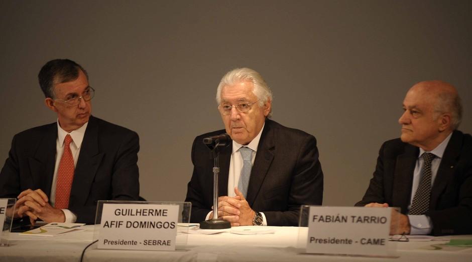 Presidente do Sebrae esteve no evento na Argentina para debater soluções para o comércio bilateral Close (Foto: Marcelo Tucuna)