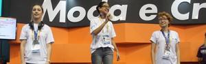 Voto popular dá ouro para o RJ em desafio de moda  (Paulo Amendola)