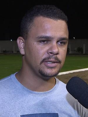 Laerte Santos, técnico do Femar (Foto: Reprodução / TV Cabo Branco)