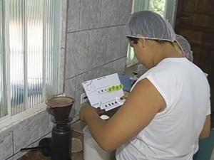 Projeto ensina alunos rotinas do dia a dia (Foto: Reprodução/TV Tem)