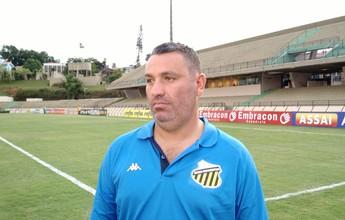 Guilherme diz que Novorizontino mereceu derrota e cobra reação