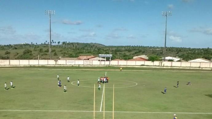 Boca Júnior e Boquinhense se enfrentaram no Francão, em Estância (Foto: Gilton Feitosa)