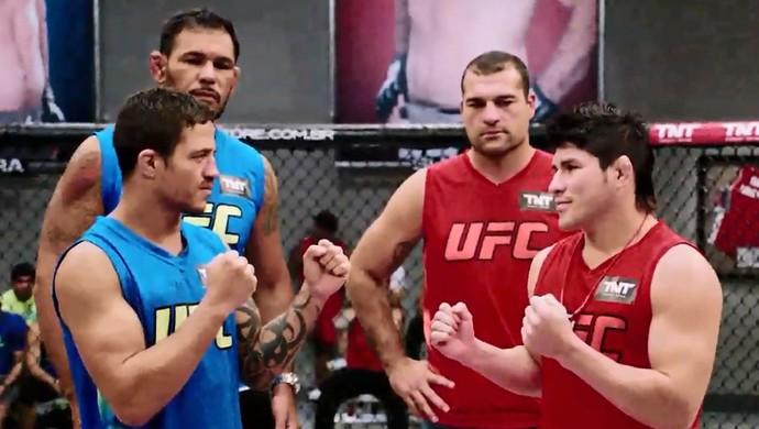Reginaldo Vieira Dileno Lopes TUF Brasil 4 MMA (Foto: Reprodução)
