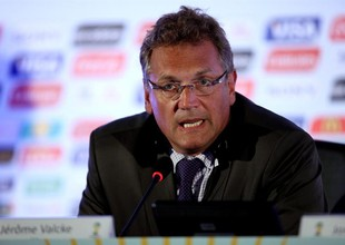 """À Fifa, Valcke muda o tom ao falar do Brasil: """"País único e incrível"""""""