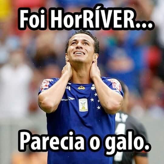 Eliminação do Cruzeiro gera brincadeiras na internet (Foto  Reprodução) 13c8dbbacfc36