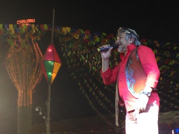 Santanna, O Cantador (Foto: Paula Cavalcante / G1 Caruaru)