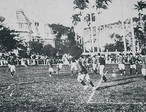 primeiro FlaxFlu 1912 Flamengo Fluminense (Foto: Reprodução)