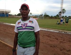 Técnico do Ariquemes, Pery Santana (Foto: Júnior Freitas)