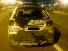 Homem morre após moto bater na traseira de carro, em Candói