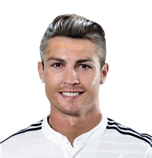 Cristiano Ronaldo envelhecido 40 anos