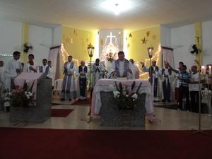 Festividades acontecem na igreja da comunidade de Palhinhas (Foto: Joselita de Souza/Arquivo pessoal)