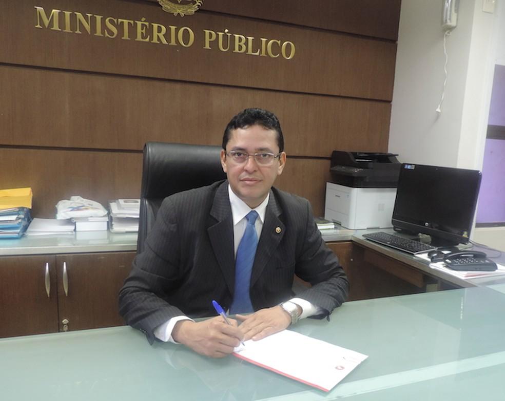 Promotor-geral da justiça, Cleandro Moura, entrou com ação judicial contra o movimento (Foto: Divulgação/MP)