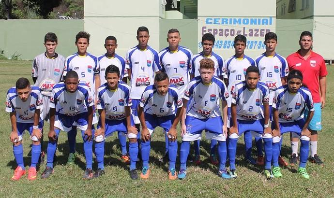 Sub-15 do Vilavelhense ficou apenas no empate com o Linhares (Foto: Divulgação)