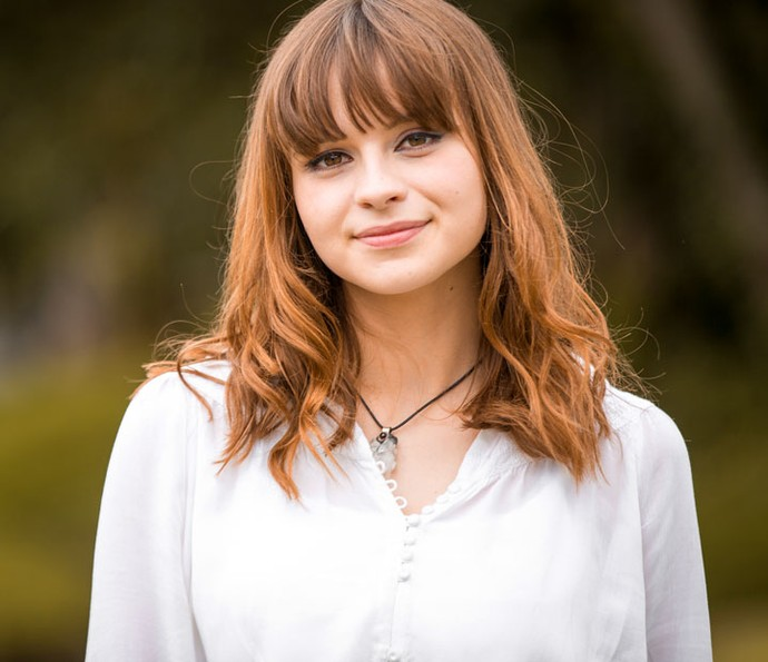 Gabrielle é intérprete da música tema de Eliza, personagem de 'Totalmente Demais' (Foto: Fabiano Battaglin/Gshow)