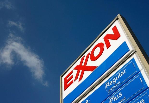 Posto da Exxon Mobil (Foto: David McNew/Getty Images)