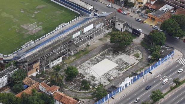 Terreno Carrossel Baenão Remo (Foto: Fernando Araújo/O Liberal)