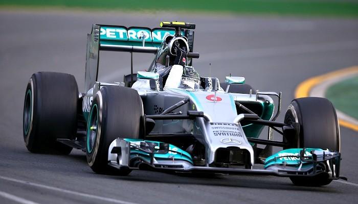Nico Rosberg Mercedes GP da Austrália