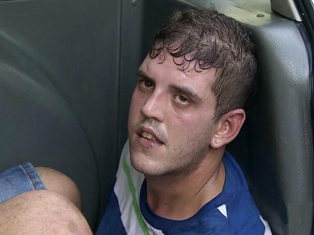 OAB pede suspensão de advogado preso após assaltar posto em Santos (Foto: Reprodução/TV Tribuna)