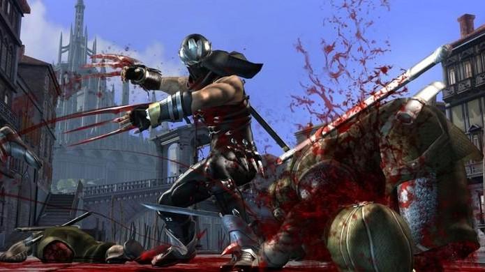 Ninja Gaiden 2 introduziu um sistema de desmembramentos no qual a violência fazia parte de sua jogabilidade (Foto: Reprodução/EB Games)