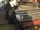 Acidente entre caminhões causa lentidão no trânsito em Marília
