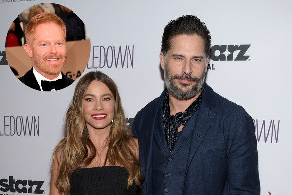 Joe Manganiello, Jesse Tyler, e Sofia Vergara (Foto: Getty Images)