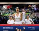 Suspensa até abril, Sharapova jogará exibição ao lado de ídolos do tênis