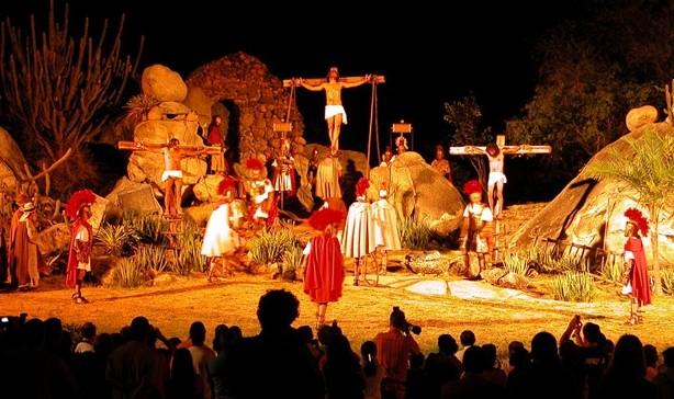Paixão de Cristo de Nova Jerusalém será destaque na TV Verdes Mares (Foto: Divulgação)