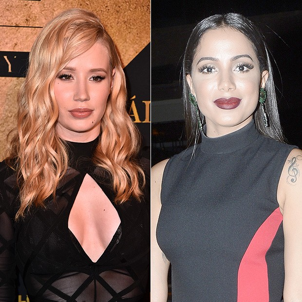 Iggy Azalea e Anitta (Foto: Getty Images)