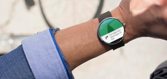 Maps ganha update para enviar navegação GPS para a tela do relógio (Foto: Divulgação/Motorola) (Foto: Maps ganha update para enviar navegação GPS para a tela do relógio (Foto: Divulgação/Motorola))