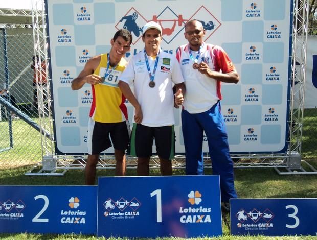 Paratleta rondoniense vence nos 100m do Circuito Caixa em Fortaleza (CE) (Foto: Edson Cavalcante/Arquivo Pessoal)